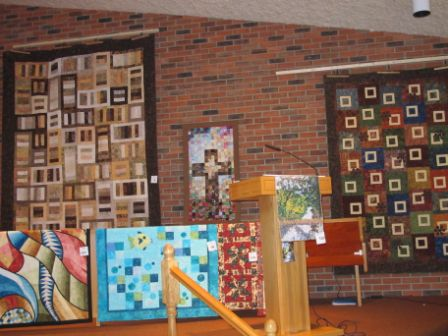 Sample of quilts shown at our Quilt show – May 2013